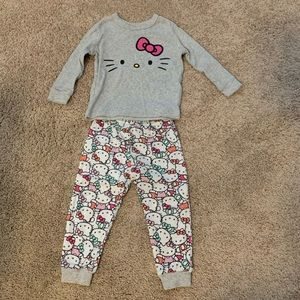 Baby Gap Hello Kitty Pajamas 18-24 month